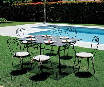 Prezzi Tavoli Da Giardino In Ferro.Tavolini Da Giardino E Balcone In Ferro E Altri Materiali Duzzle