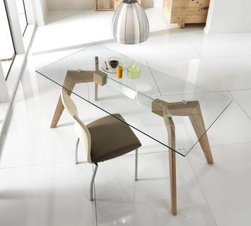 Tavoli sala da pranzo moderni anche salvaspazio con sedie a ...