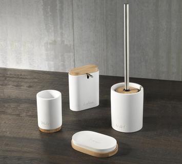Accessori Per Bagno Colorati.Accessori Per Bagno Online Bianchi Cromati Bamboo Duzzle