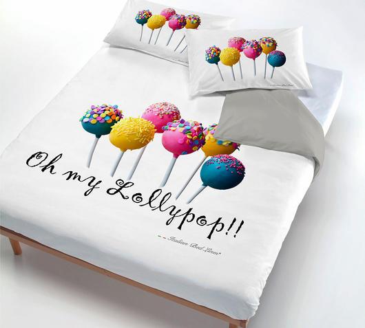Copripiumino Macarons.Parure Copripiumino 1 P E Mezza Macarons Duzzle