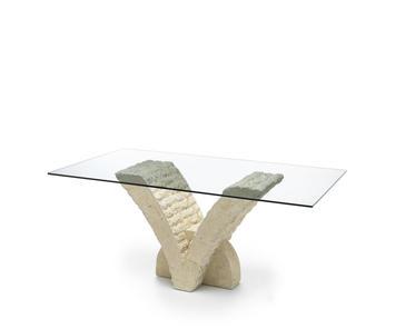 Tavolo Cristallo 4 Sedie.Tavoli Sala Da Pranzo Moderni Anche Salvaspazio Con Sedie A
